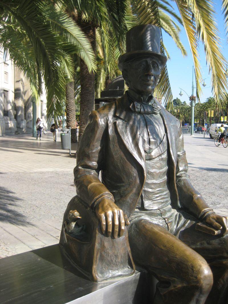 Statue af H.C. Andersen